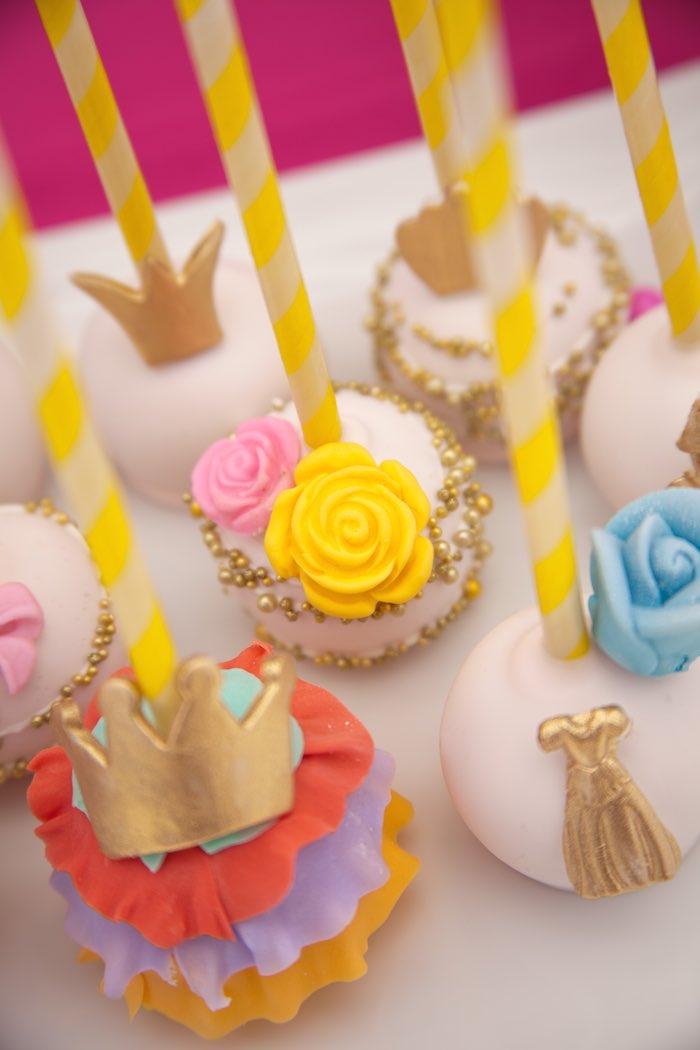Princess Tea Party Picnic cake Pops