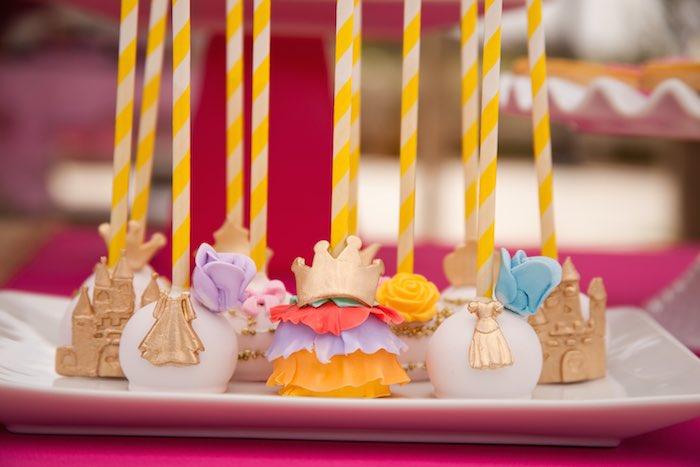 Princess Tea Party Picnic cake pop display
