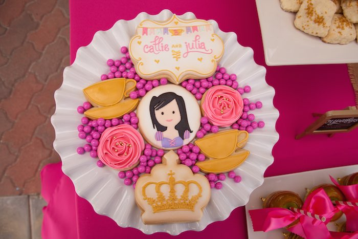 Princess Tea Party Picnic cookies