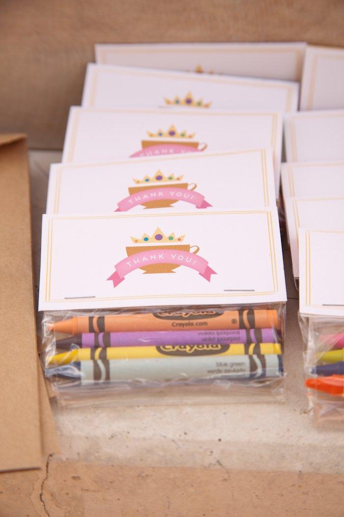 Princess Tea Party Picnic favor tags