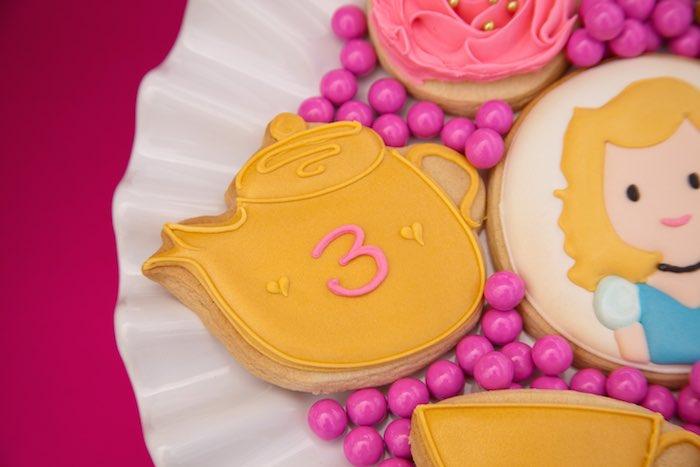 Princess Tea Party Picnic tea pot cookie