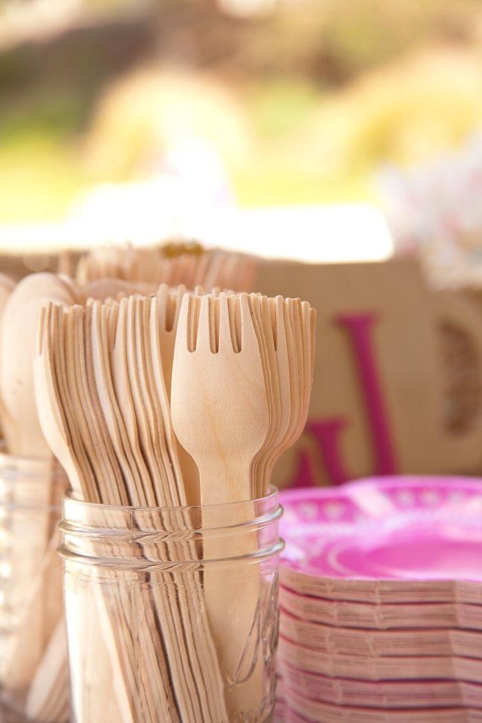 Princess Tea Party Picnic utensils