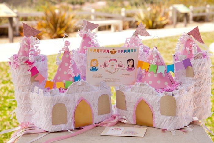 Princess tea party picnic Pinatas