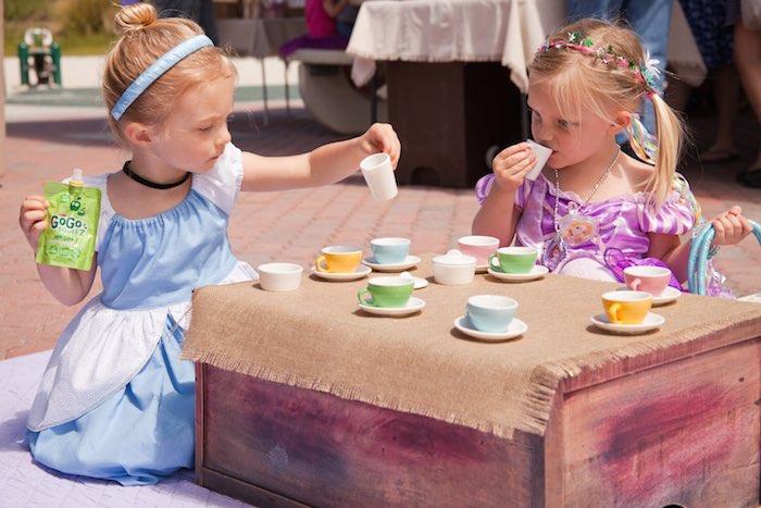 Princess tea party picnic tea time