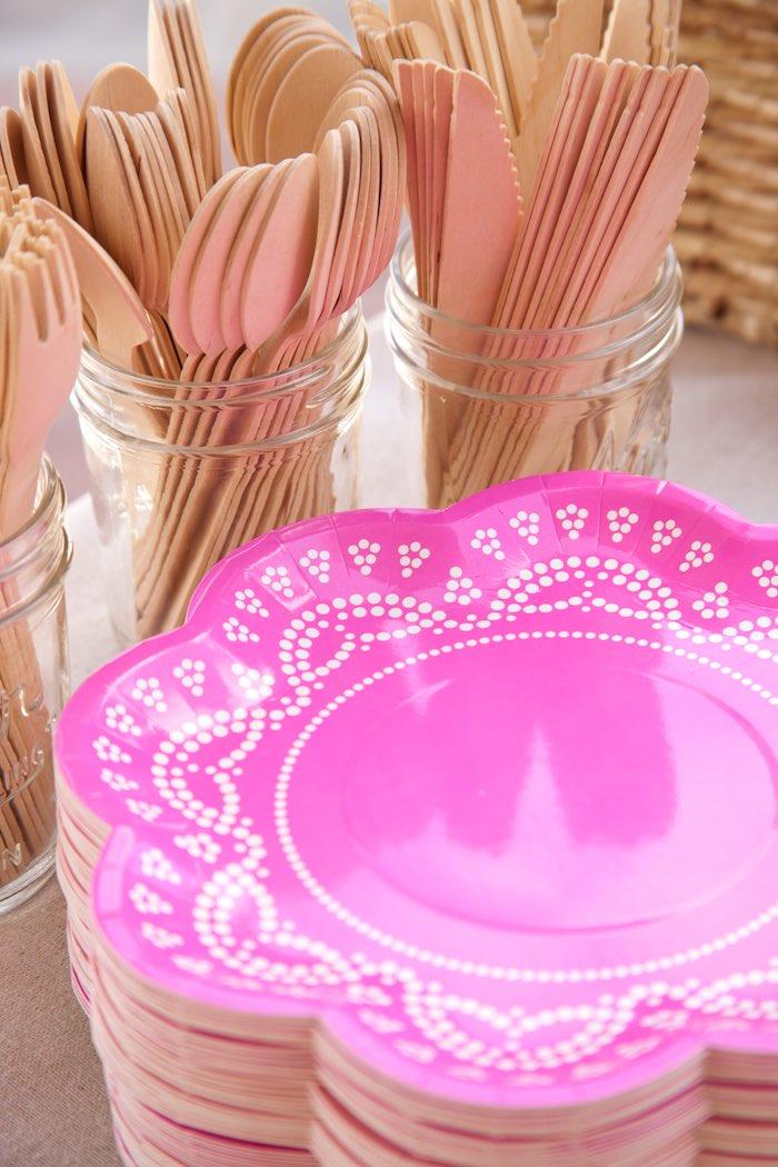Priness Tea Party Picnic Plates