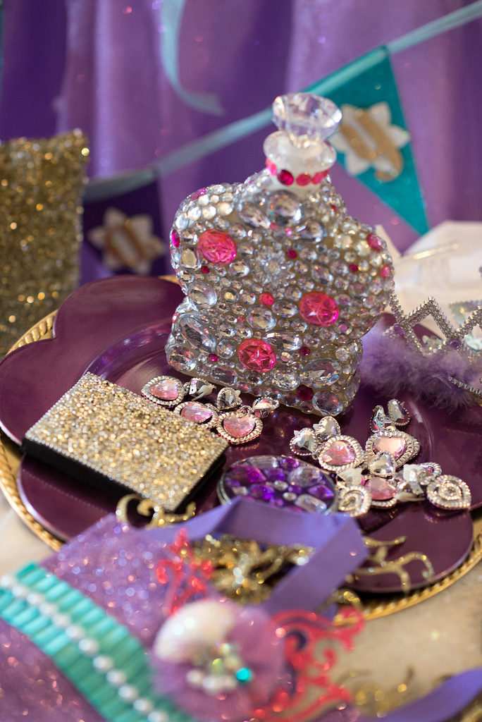 The Little Mermaid Party dress up jewels