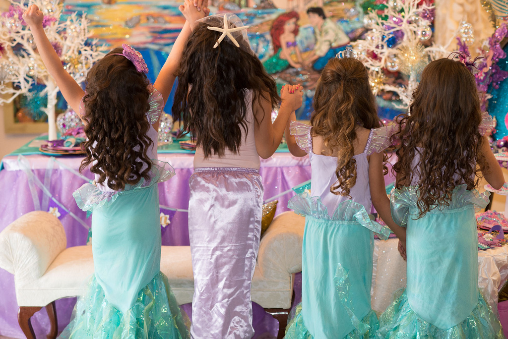 The Little Mermaid Party girls mermaid outfits