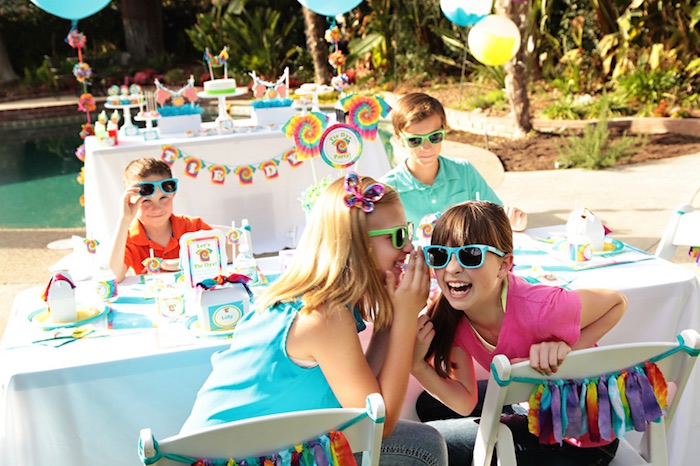 Tie Dye Party Kids Fun