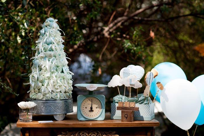 Vintage Up Up & Away Party Vintage Decor