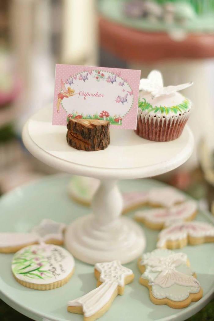 fairy garden birthday party  cookies