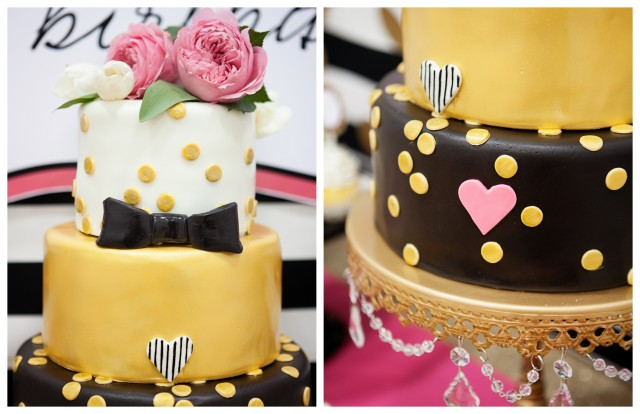kate spade party cake