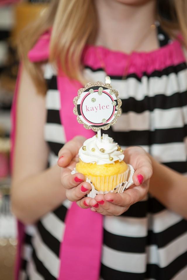 kate spade party cupcake