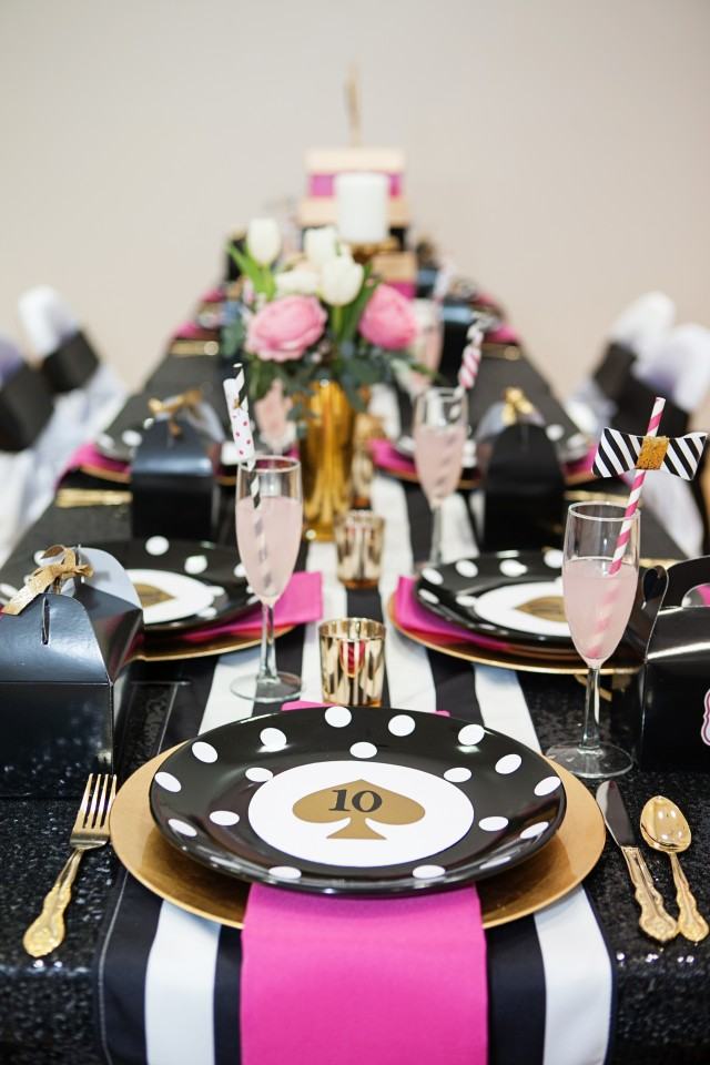 kate spade party table