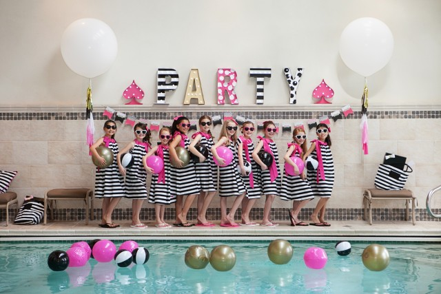 kate spade party marquee sign