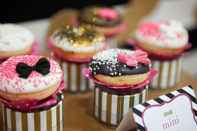 kate spade party mini donuts