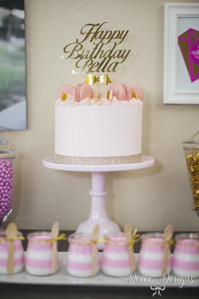 Modern Pink Gold Birthday Party