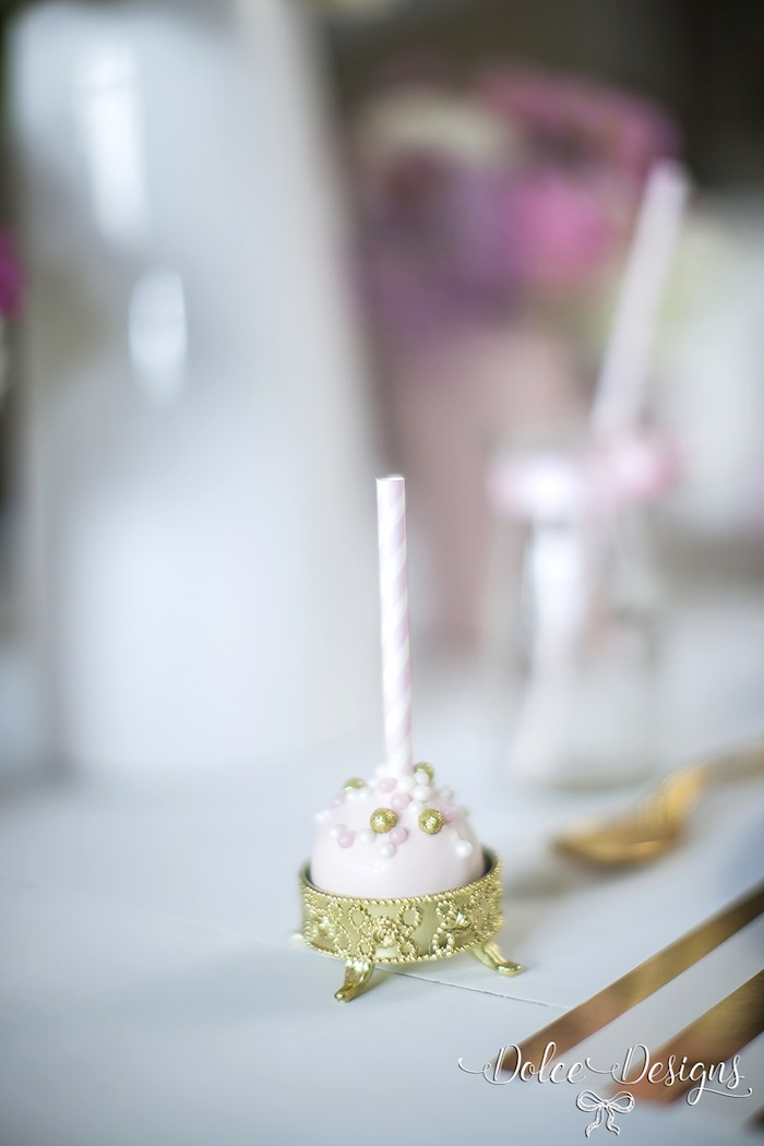 Modern Pink Amp Gold Birthday Party
