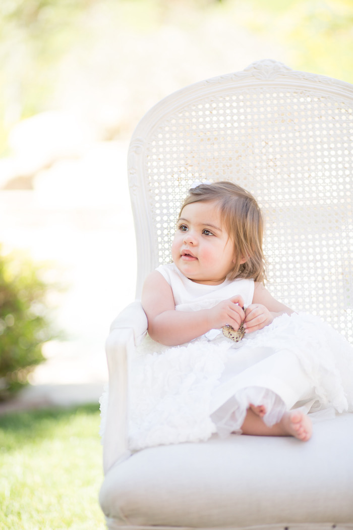 vintage glam first birthday party