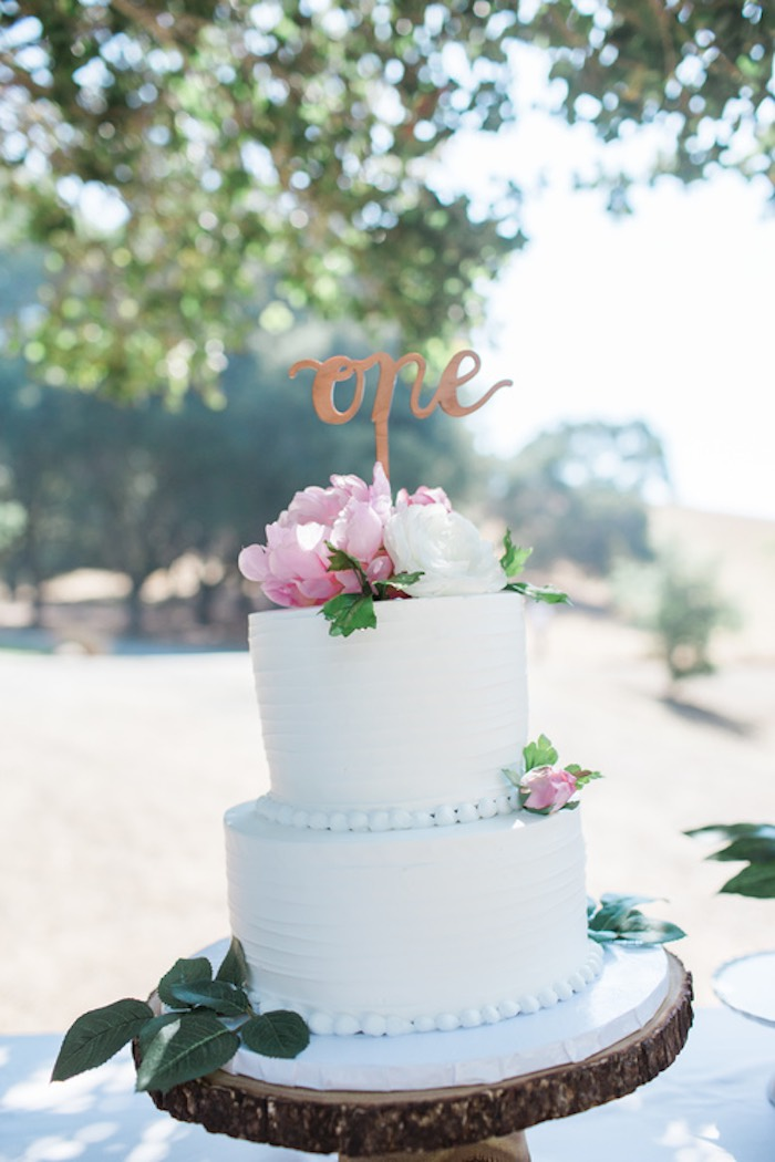 Boho Chic Birthday Party Cake
