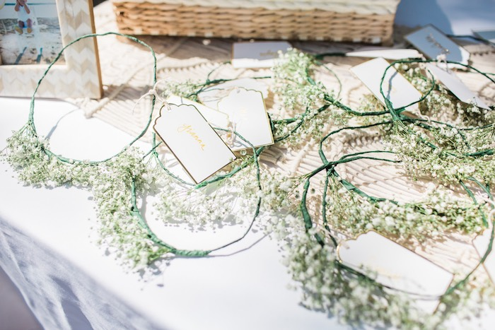 Boho Chic Birthday Party Flower Crowns
