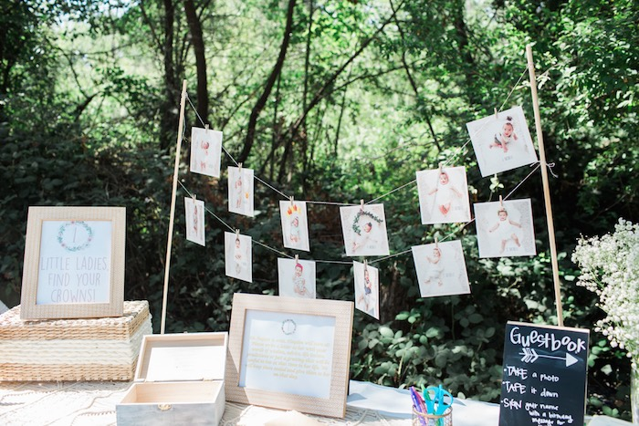 Boho Chic Birthday Party Gustbook Idea