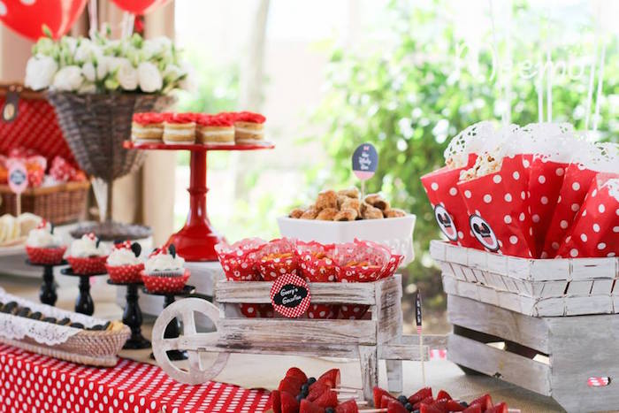 Minnie Mouse Birthday Party Sweets Ideas