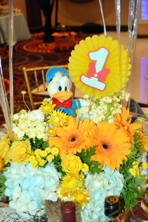 Mickey and Friends centerpieces