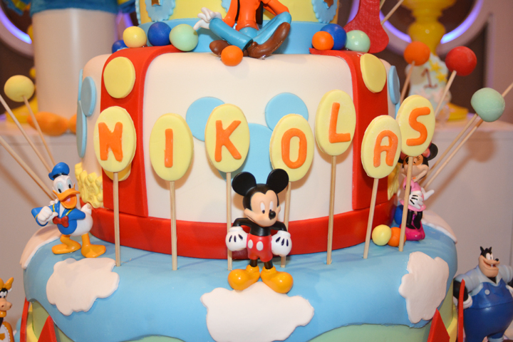 Mickey and Friends cake