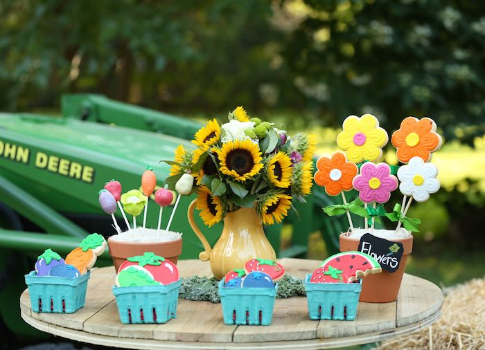 Farmer\'s Market Birthday Party