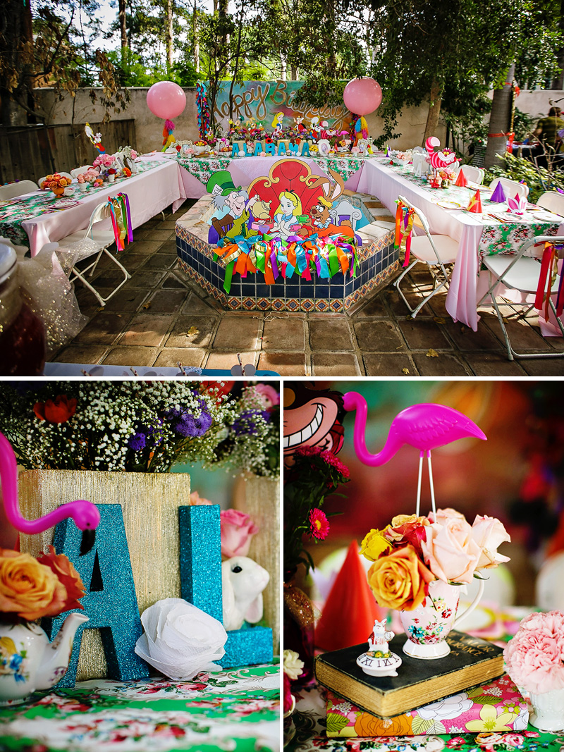 Alice in wonderland birthday party for Alice in wonderland party decoration