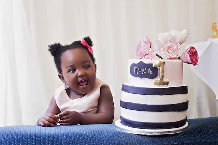 Fashion Boutique Birthday Party Smash Cake
