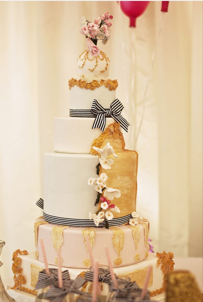 Fashion Boutique Birthday Party Cake