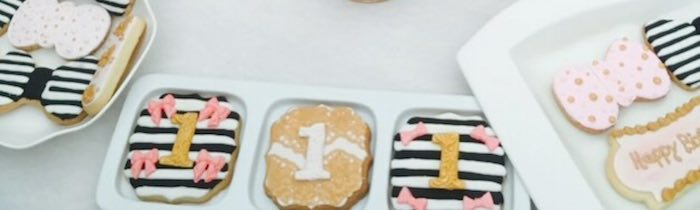 Fashion Boutique Birthday Party Cookies