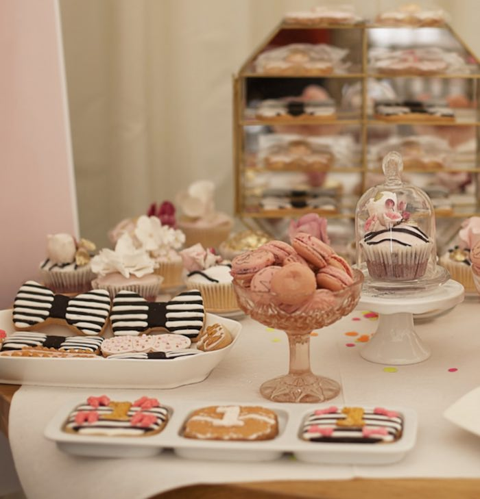 Fashion Boutique Birthday Party Desserts