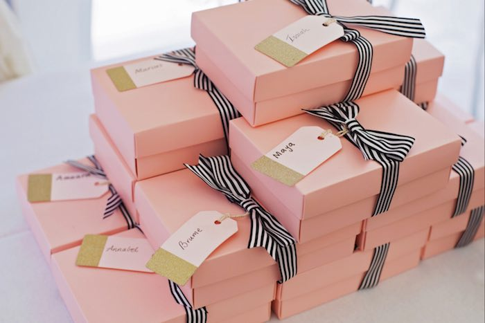 Fashion Boutique Birthday Party Favors