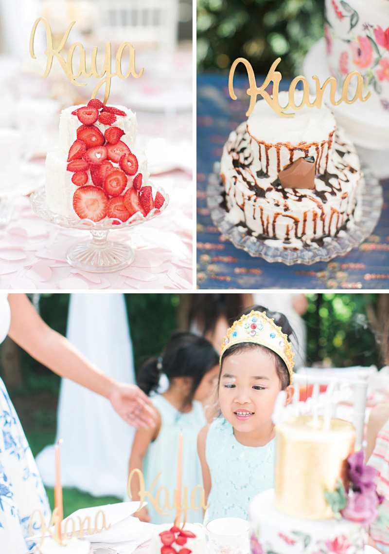 princess tea party cakes