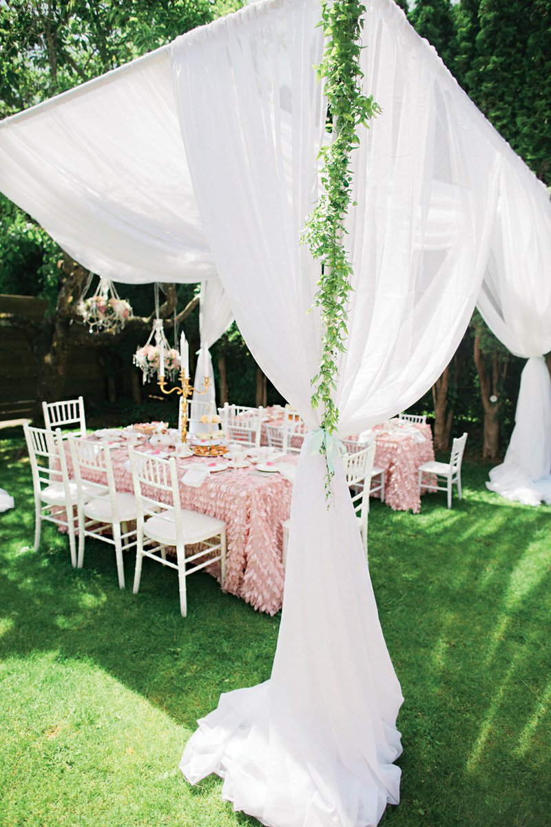 princess tea party canopy
