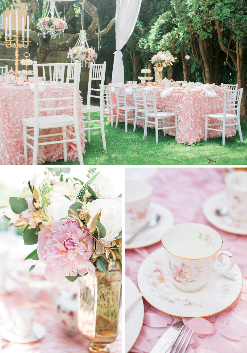 princess tea party tea cups and seating
