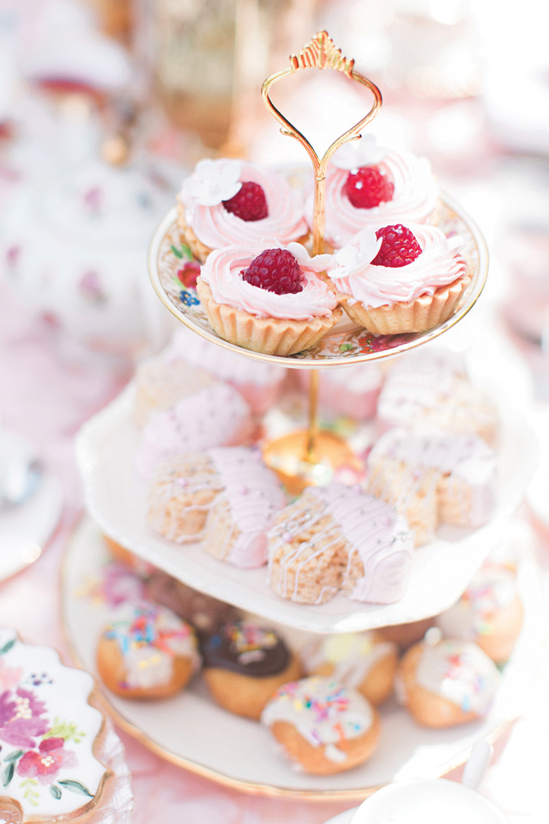princess tea party tea cakes
