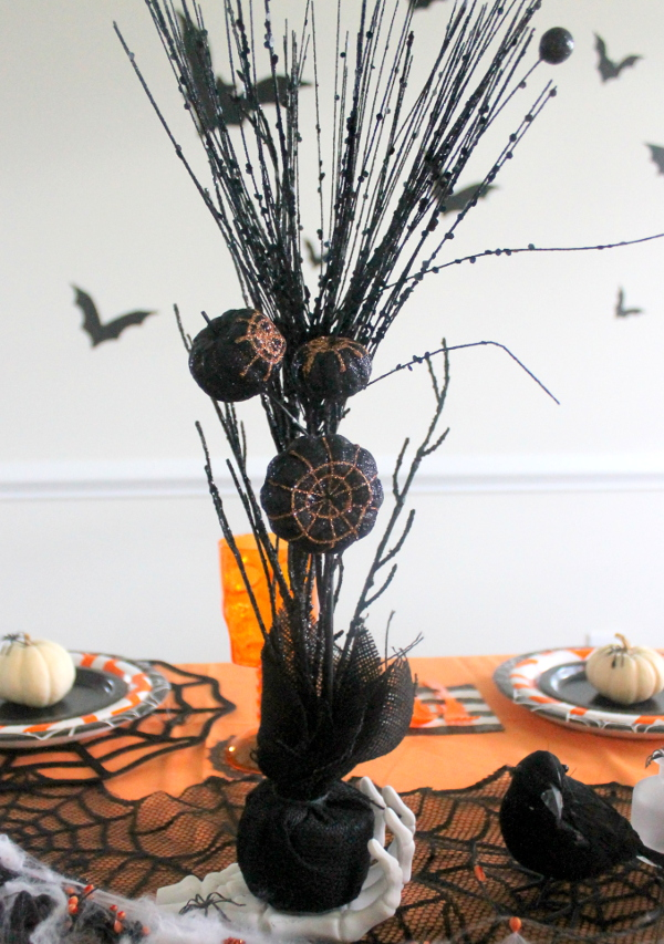 Halloween Party Black Branches