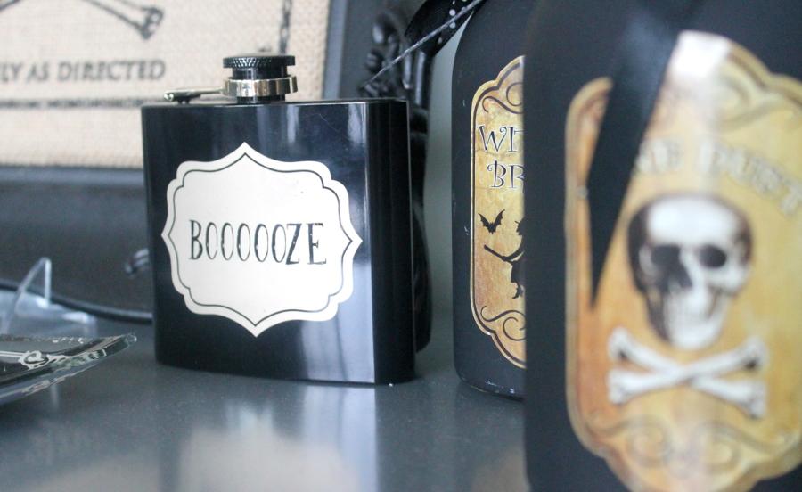 Halloween Party Booze Flask