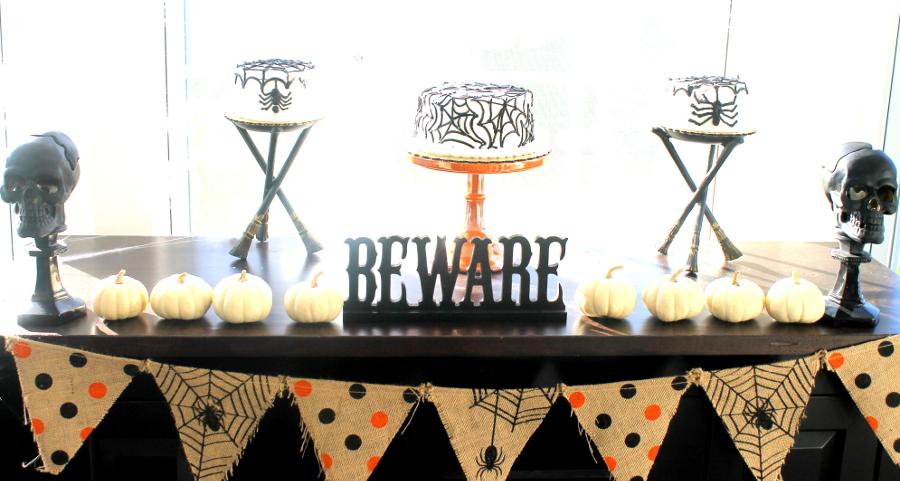 Halloween Party Dessert Bar
