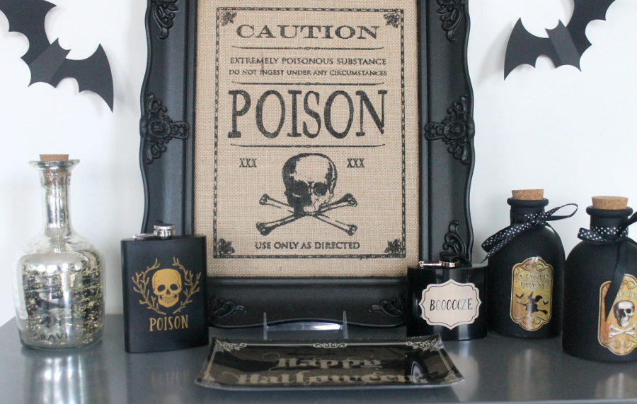 Halloween Party Poison Bar (2)