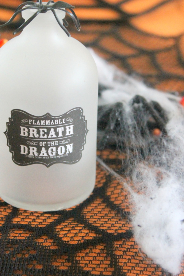 Halloween Party Potion Bottle