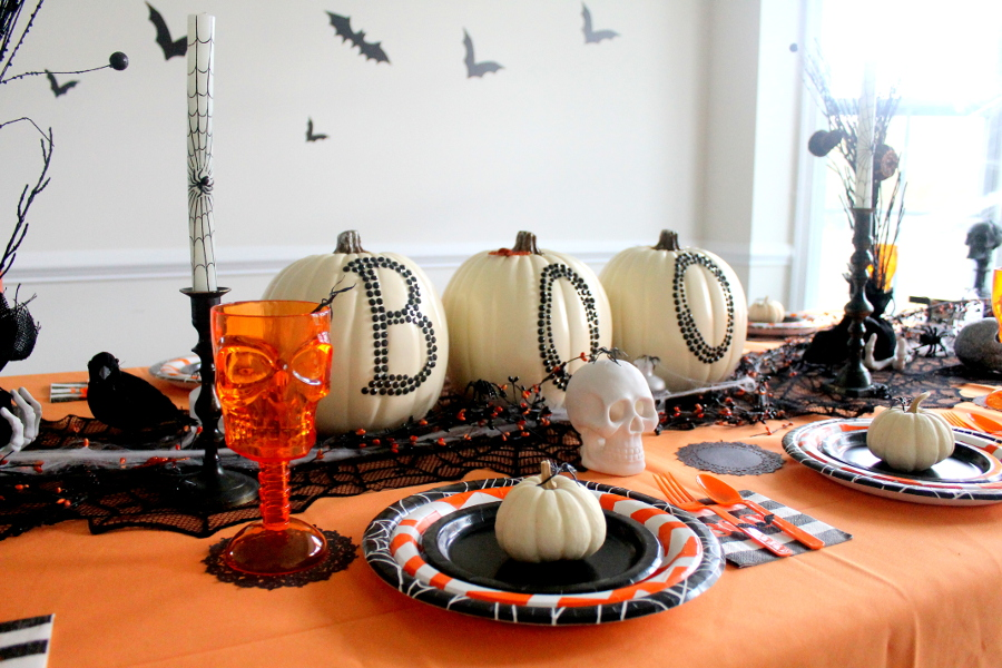 Halloween Party Table view
