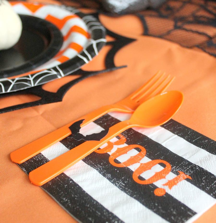 Halloween Party Utensil set