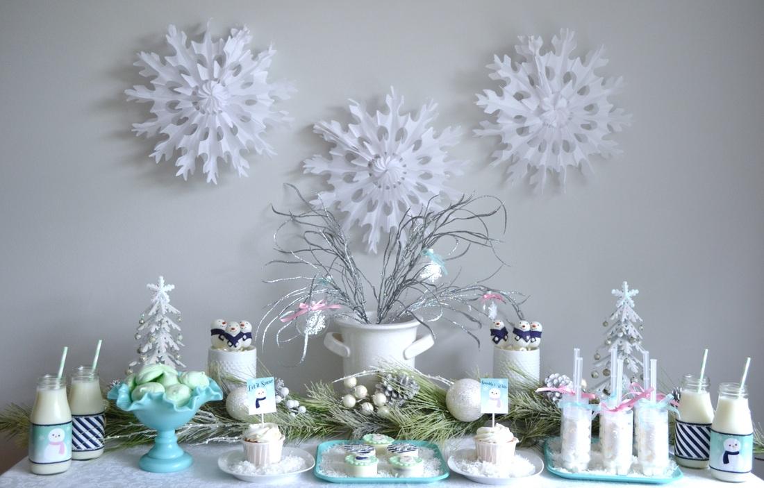 Winter Wonderland Let It Snow Party