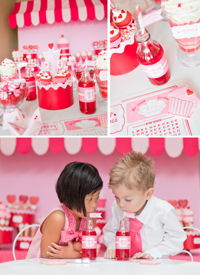 sweet shoppe valentine 39 s day party. Black Bedroom Furniture Sets. Home Design Ideas