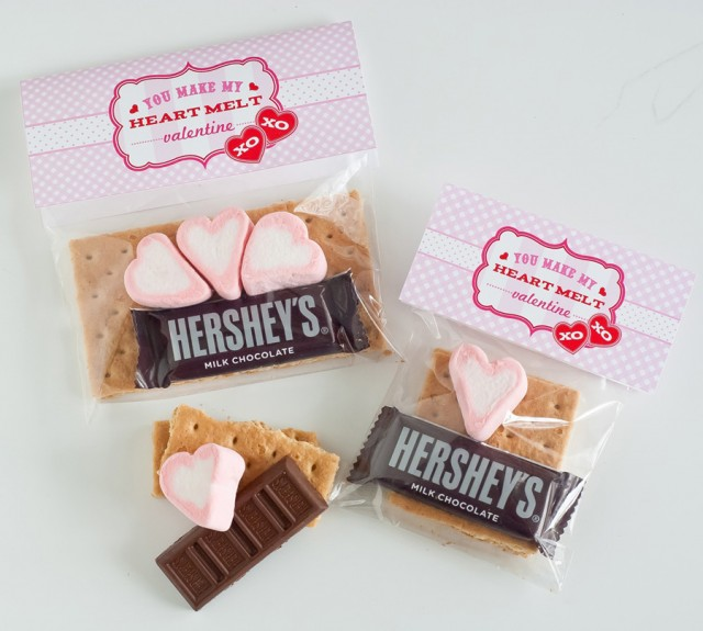 printable valentine's day class treat and party idea