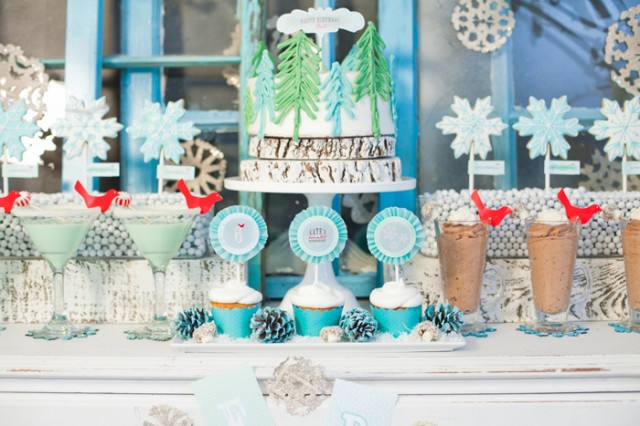 Whimsical Winter Wonderland Birthday Party